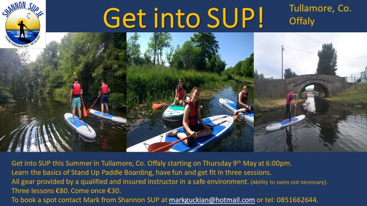 Get into SUP! Tullamore