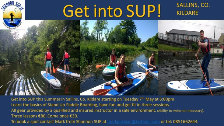 Get into SUP!